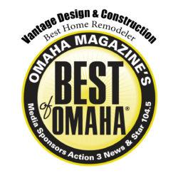 Vantage Best of Omaha Remodeler